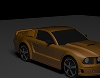 Ford Mustang car modeling training