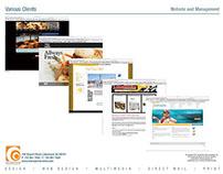 Various Client Websites