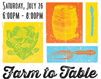 Farm to Table Event Poster