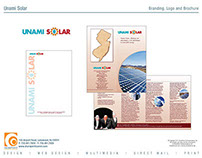 Unami Solar Branding and Brochure
