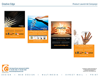 CreativeEdge Website Lauch Ad Campaign