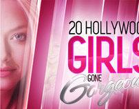 20 Hollywood Girls Gone Gorgeous