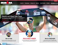 Ironman Web + UX