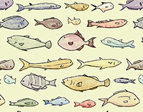 All The Fishes - Pattern