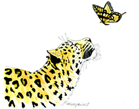 The Leopard and the Butterfly