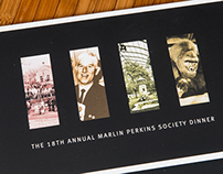 Marlin Perkins Society Dinner Invite 2010