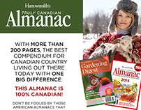 Harrowsmith Almanac Rate Card