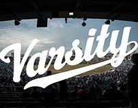 Varsity Boys: Script Logotype
