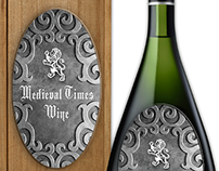 Pewter Wine Labels
