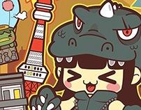 Terezilla Kawaii Invasion In Tokyo