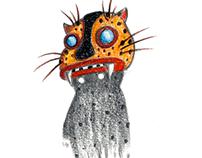Stickerbook - Spirit Masks