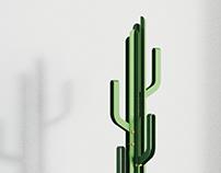 cactus coat stand