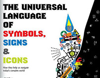 The universal language of symbols, signs & icons