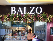 RE-BRANDING & RETAIL SPACE DESIGN | Balzo