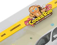 Line CookieRun Microsite