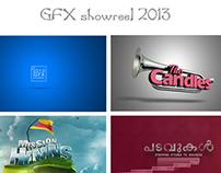 GFX Reel 2013