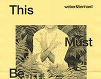 weber&lienhard — invitation