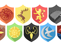 GAME OF THRONES: FLAT SIGILS