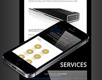 TCA Mobile App Design