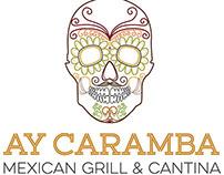 Logo Concepts 2 - Ay Caramba Mexican Grill & Cantina