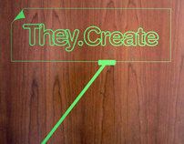 They.Create design house promotional identity
