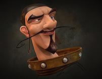 Captain Crash - Zbrush