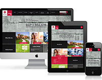 Palm Hills Developments Responsive website