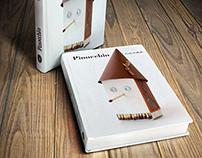 """Cover book """"Pinocchio, Carlo Collodi"""""""