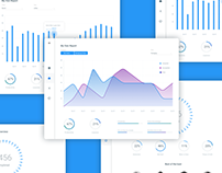 Daily UI #018 - Analytics Chart - free Sketch source