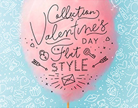 Valentine's Day Flat Style