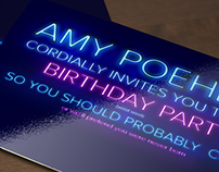Letter Society Project 8: Invitations