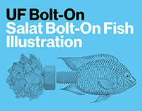 Salat Bolt-On Fish