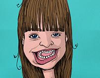 Ilustração Valentina