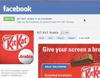 KitKat Arabia - Facebook  activation, Nestle MENA