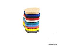 Colour Sole Felt Shoes - 10 variations