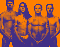 RHCP - Doble página de Revista Experimental