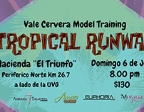 Vale Cervera Model Training: Tropical Runway
