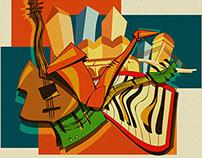 Música na cidade