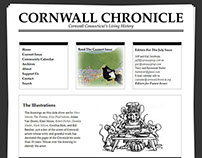 Web Design for Cornwall Chronicle