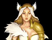 Medieval fantasy bride