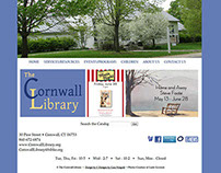 Cornwall Library Web Design