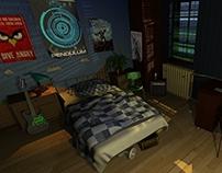 Gamer's Room [Render & Illumination]