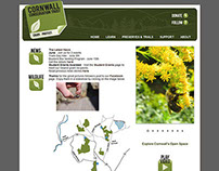 Web design for Cornwall Conservation Trust