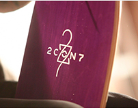 2con7 Brand Identity / wood