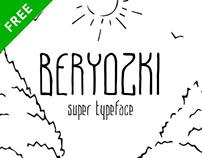 Beryozki — free typeface