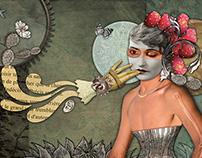 Illustrations for El Fanzine web page