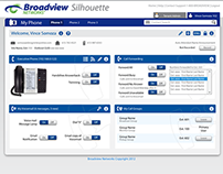 Broadview Silhouette - Web Portal
