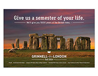 Grinnell-in-London Poster