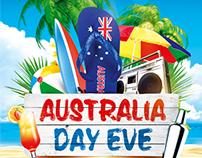 Australia Day Party Flyer vol.4