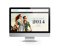 Pantaloons Website Design